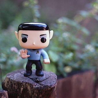 Spock, Star Trek, Vulcan, Action Figure