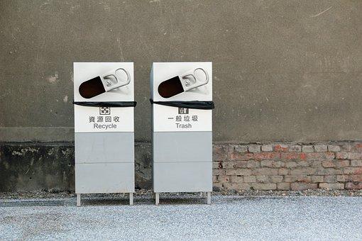 Recycle, Trash, Garbage Can, Garbage, Ton, Waste