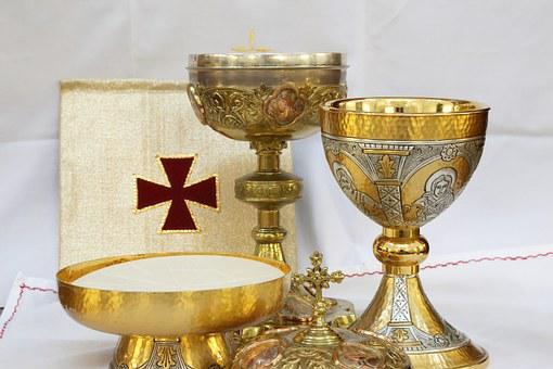 Cross, Crucifix, Chalice, Wine, Water, Eucharist
