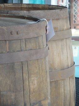 Barrel, Keg, Beer, Alcohol, Drink, Wood, Wooden, Old