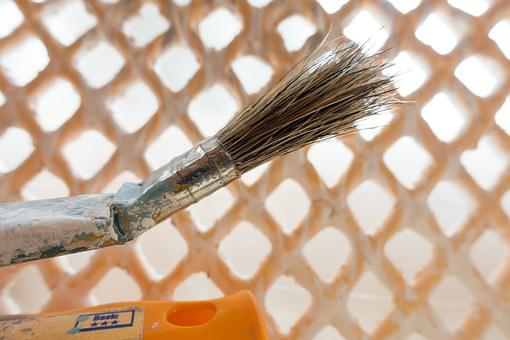 Brush, Renovate, Painter Working, Painting, Delete