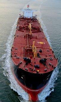 Ship, Water, Evening Light, Usa, Transport Ship, Wave