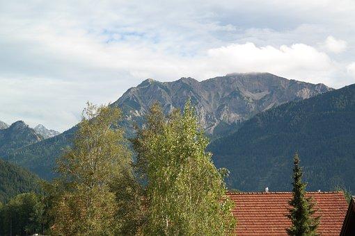 Allgäu, Alpine, Pfronten, Panorama, Falkenstein