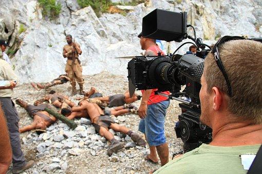 Production, Filmproduction, Filmteam, Camera, Desert