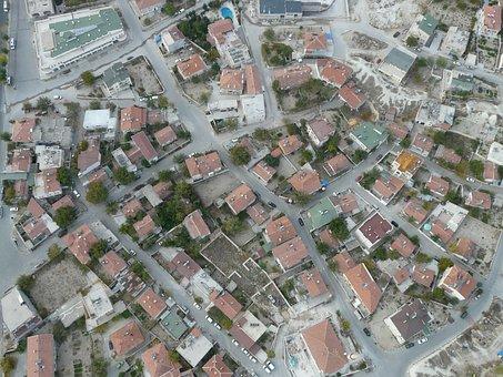 Göreme, Turkey, Cappadocia, Home, Live, City, Cityscape