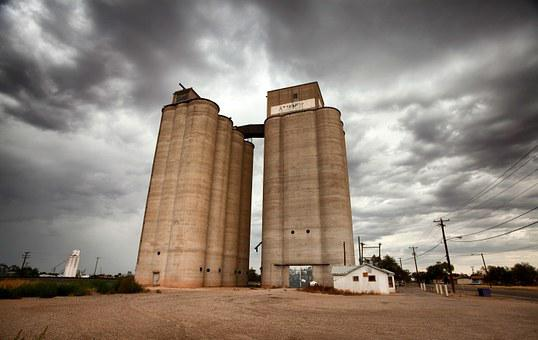 Tucumcari, New Mexico, Grain Elevator, Agriculture