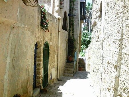 Israel, Old Town, Alley, Jews, Jewish, Homes
