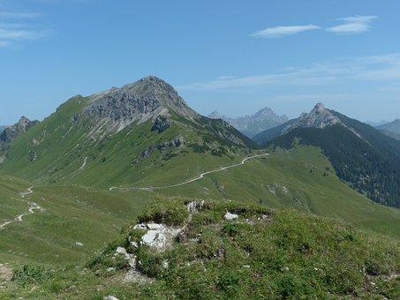 Sulz Tip, Litnisschrofen, Krinnenspitze, Hike
