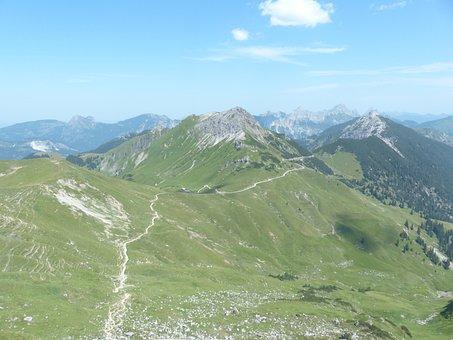 Neunerköpfle, Sulz Tip, Litnisschrofen, Krinnenspitze