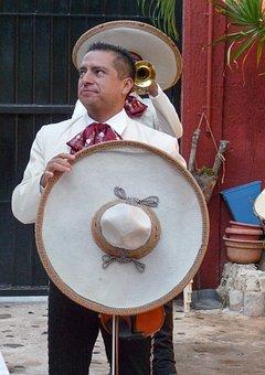 Mexico, Mariachis, Musicians, Hats, Sombrero