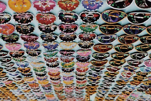 Sombreros, Mexican, Colorful, Hats, Many, Traditional