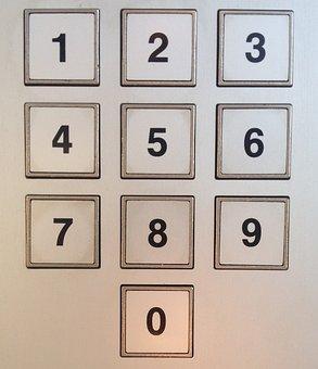 Keyboard, Numeric Keypad, Number Field, Input, Pin