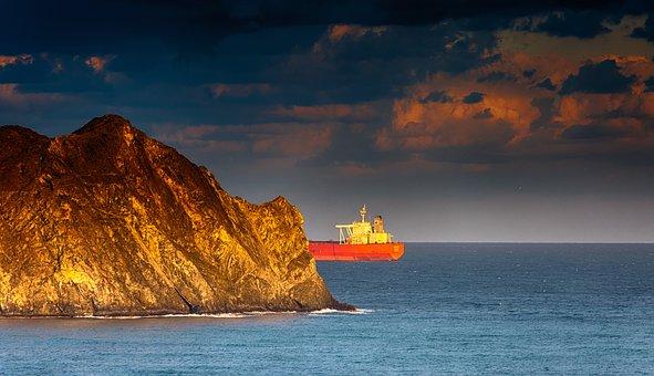 Ship, Oil Tanker, Lake, Sea, Water, Oil