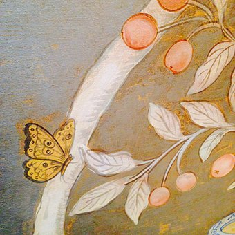 Parade House, Butterfly, Drawing