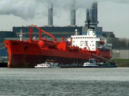 Atria, Ship, Port, Rotterdam, Tanker, Logistics
