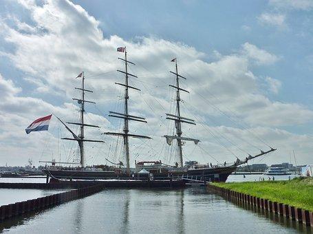 Tall Ship, Sailing Ship, Clipper, Boat