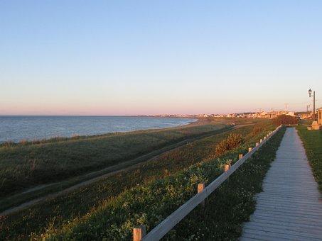 Village, Beach, Market, Morning, Evening, Seaside, Sea