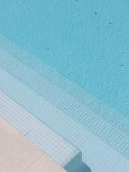 Swimming Pool, Markets, Blue, Water, Summer