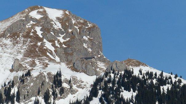 Alpine, Tyrol, Tannheimertal, Aggenstein
