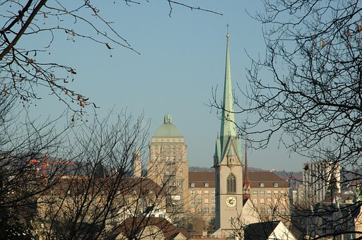 Zurich, Uni, From The Lindenhof