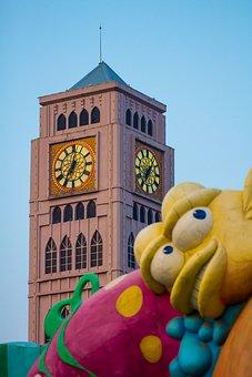 Shijingshan, The Bell Tower, Yellow Croaker