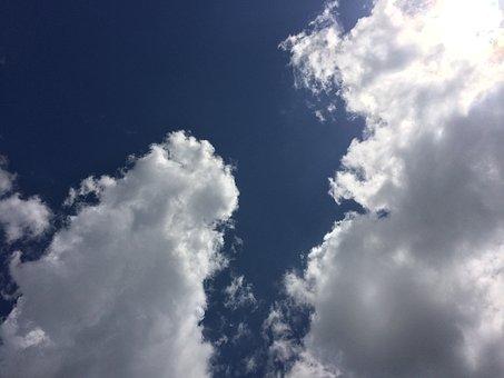 Sky, Cloud, Blue Sky, Sun, Summer, Glistening, Yokosuka