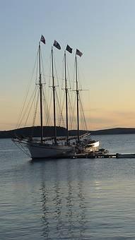 Bar Harbour, Maine, Sailing Boat, Harbour, Boat, Coast