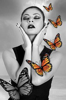 Actors, Art, Butterfly, Fantasy, India, Manipulation