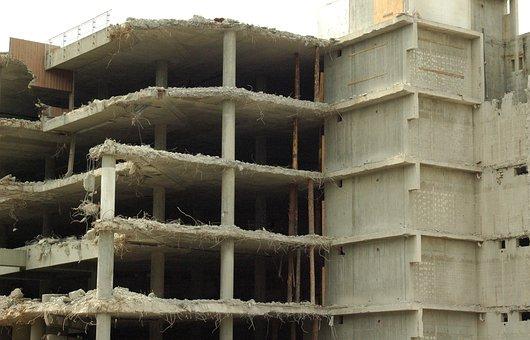 Ruin, Demolition, Building, Dilapidated, Decay