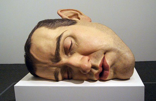 Ron Mueck, Mask, Arts, Exposure