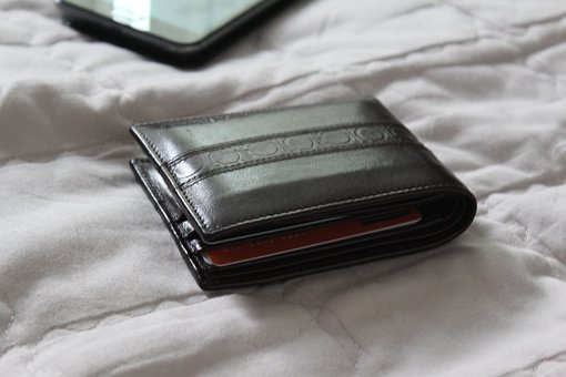 Wallet, Leather, Gift