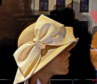 Dress Hat, Headdress, Bow, Hatter, Milliner