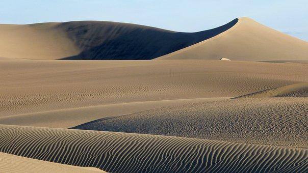 Sand Dune, Peru, Sand, Brown, Landscape, Nature, Arid
