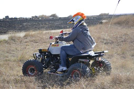 Quad, Atv, Ride, Sport, Extreme, Transportation, Riding