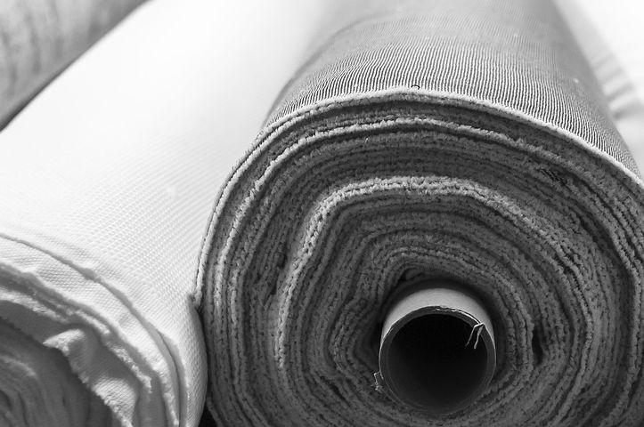 Fabric Rolls, Fact, Hand, Texture