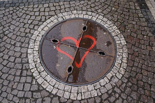 Gullideckel, Walk, Stones