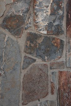 Flagstones, Wall, Background, Patterns, Flat, Stones