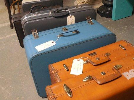 Luggage, Suitcase, Travel, Journey, Bag, Trip, Baggage