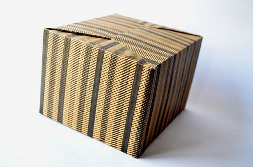 Cardboard Box, Box, Gift, Cardboard, Package, Isolated