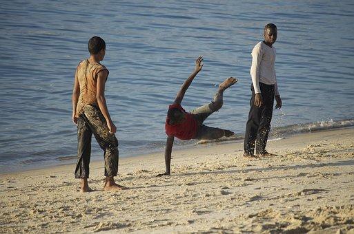 Capoeira, Tanzania, Young People, Brazilian Dances
