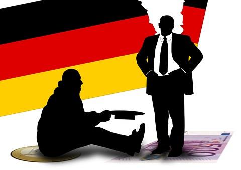 Poverty, Alms, Germany, Business, Company, Economy