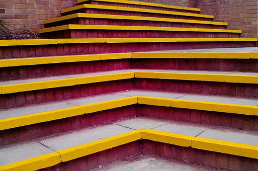 Stairs, Steps, Staircase, Design, Climb, Floor, Down