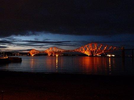 Forth Road Railway Bridge, Railway Bridge, Scotland