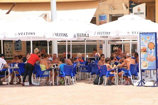 Café, Coffee Break, Lunch, Holiday, Solar, Free