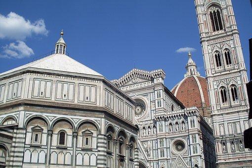Monuments, Duomo, Florence, Tuscany, Landscape
