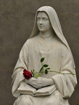 Religious, Statue, Lourdes, Religion, Symbol, Sculpture
