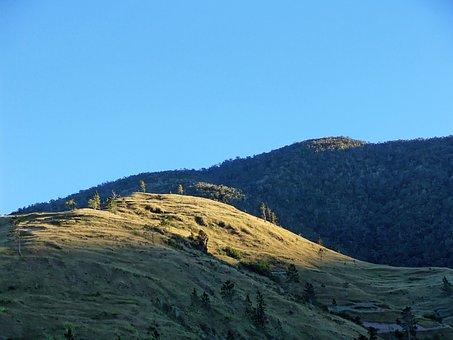 Mountains, Sun, Jamaica, Blue Mountains, Sunbeam