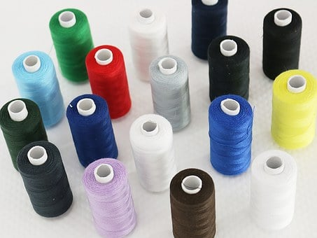 Sewing Thread, Couture, Colors, Multicolor, Coil, Coils