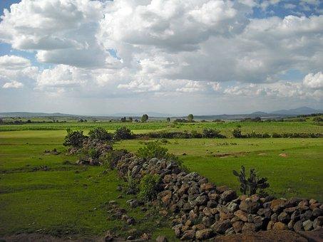 Queretaro, Landscape, Nature, Panorama, Scenery, Clouds