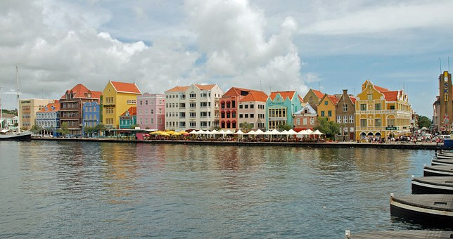 Willemstad, Curacao, Holiday, Handelskade, Clouds, Quay